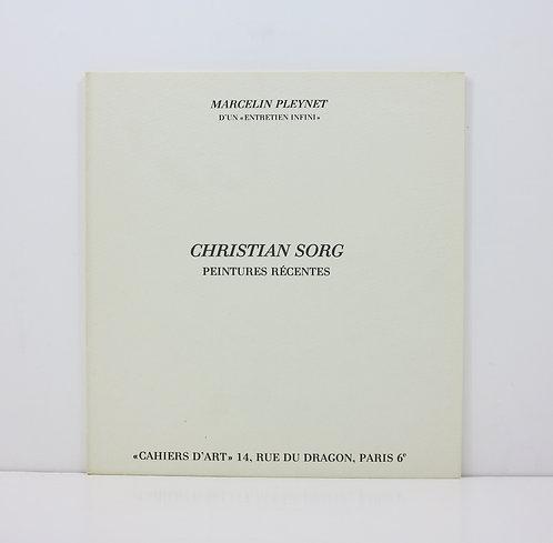 Christian Sorg. Peintures récentes. Cahiers d'Art. 1979.