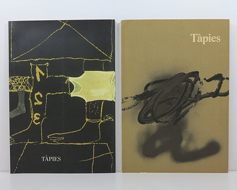 Tapies. Galerie Lelong. 1986 and 1996. With original lithographs.