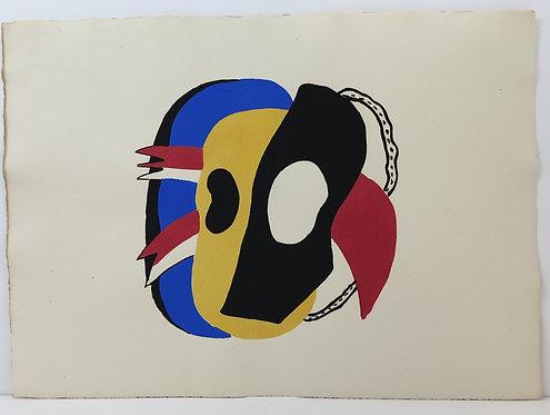 Fernand Léger. Pochoir. 1949.