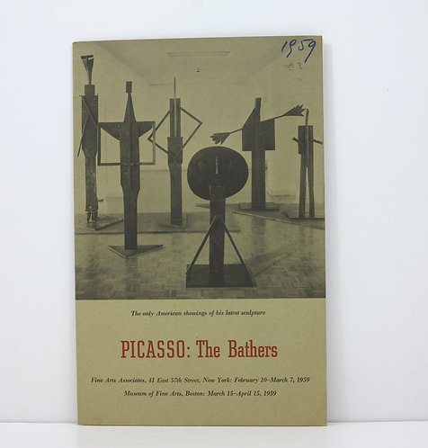 Picasso. The Bathers. Fine Arts Associates. 1959.