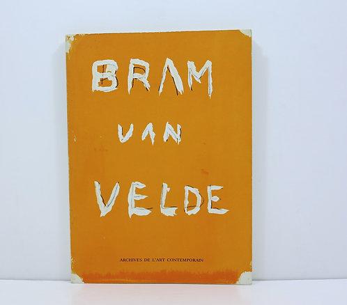 Bram Van Velde. Archives de l'art contemporain. 1970