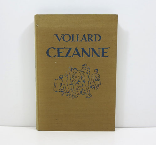 Paul Cézanne. By Ambroise Vollard. Kurt Wolff verlag. 1921.