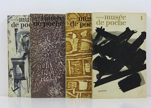 Cahiers du musée de poche, n° 1 à 4. Editions Geroges Fall. 1959-1960.