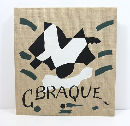 Catalogue de l'oeuvre de Georges Braque, peintures 1942-1947. Maeght. 1960.