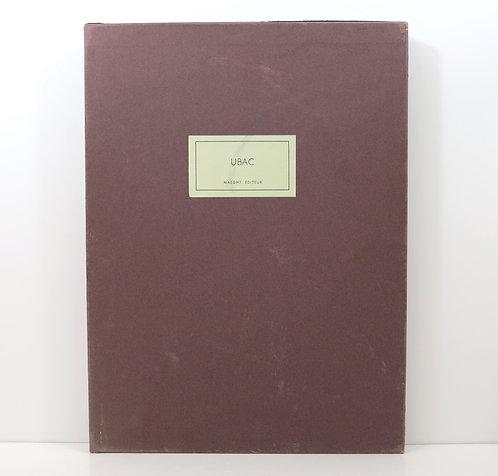 Derrière le Miroir. Raoul Ubac. Maeght. 1972. Deluxe. Signed.