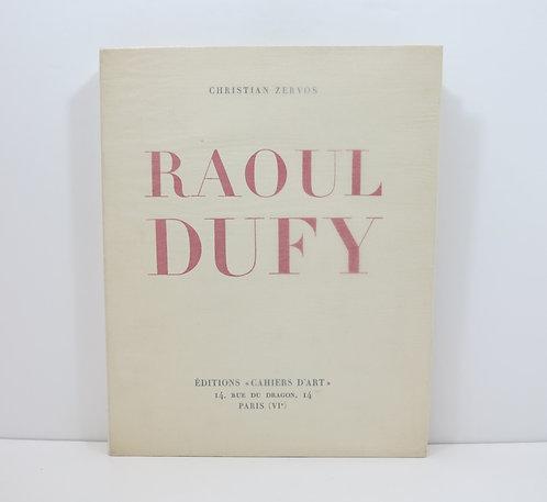 Raoul Dufy. Cahiers d'Art. 1928.