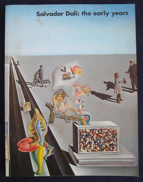 Salvador Dali : the early years, exposition, South Bank Centre, 1994
