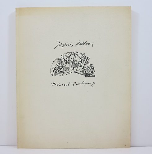 Jacques Villon. Marcel Duchamp. Guggenheim. 1957.