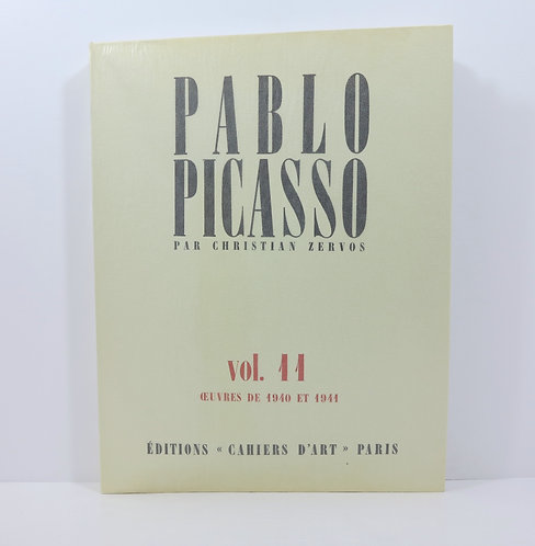 Picasso. By C.Zervos. Vol 11. Cahiers d'Art. 1984.