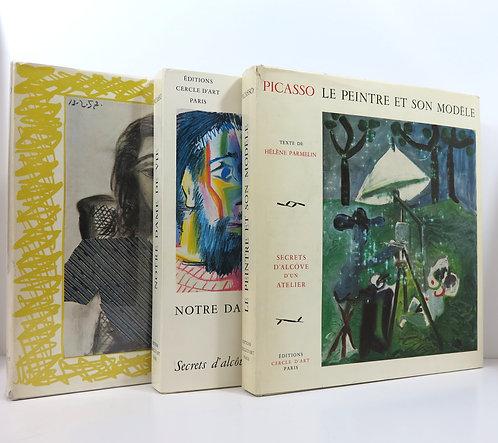 PARMELIN (Hélène).Picasso. Cercle d'art, 1964-1966.