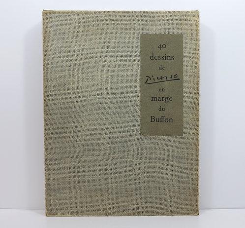 Pablo Picasso. 40 dessins en marge du Buffon. Paris, Jonquières, 1957.
