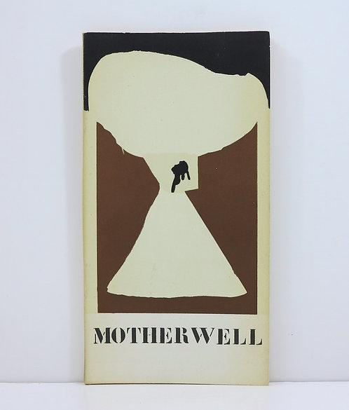 Robert Motherwell. Collages 1958-1960. Galerie Berggruen. 1961.