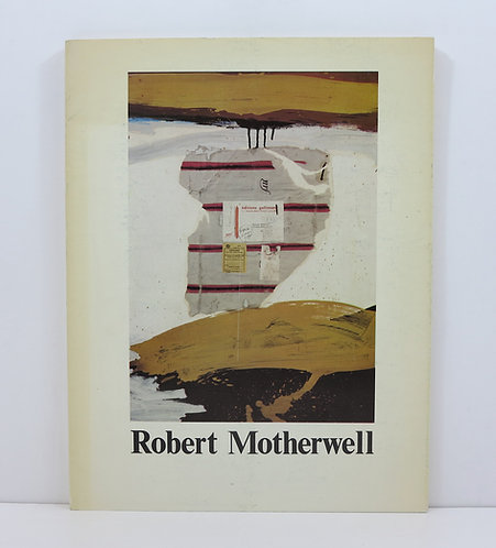 Motherwell. Choix de peintures et de collages. Musée d'Art Moderne, Paris. 1977.