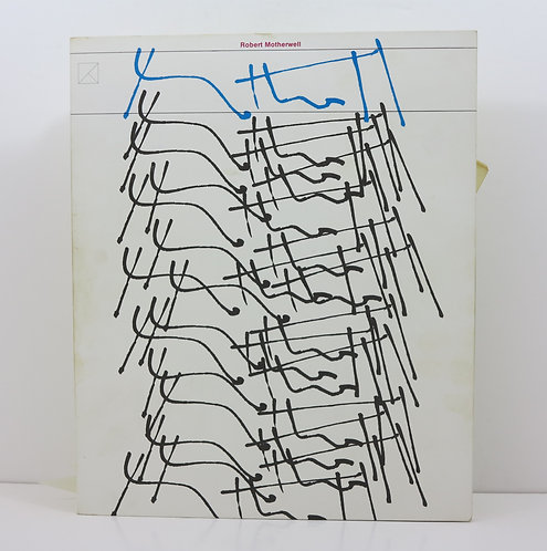 Robert Motherwell. Kunsthall Dusseldorf. 1976.