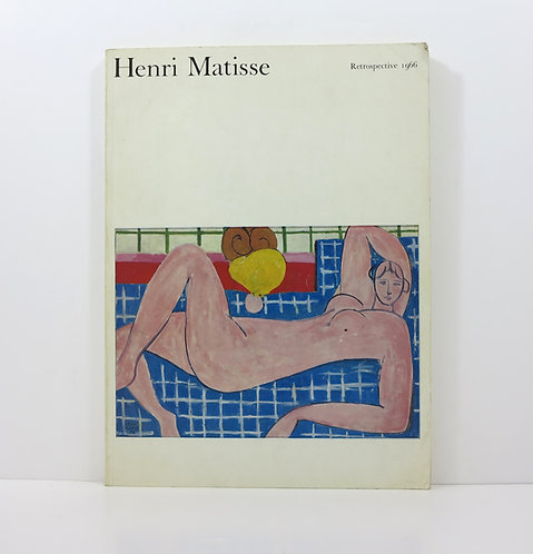 Henri Matisse. Retrospective 1966. UCLA Art Council.
