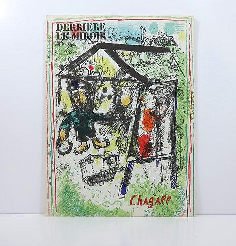 Marc Chagall. Derrière le Mirroir. n°182. Maeght. 1969.
