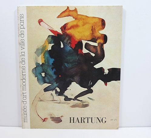 Hartung. Musée d'art moderne de Paris. 1980.