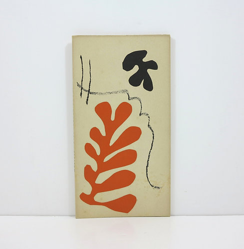 Henri Matisse. Lithographies rares. Berggruen. 1954.