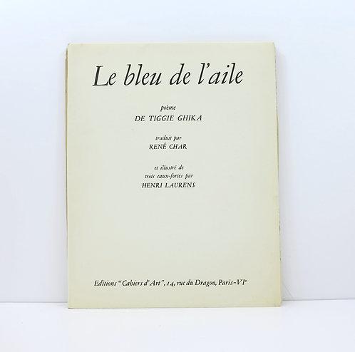 Henri Laurens and Tiggie Ghika. Le bleu de l'aile. 1948.