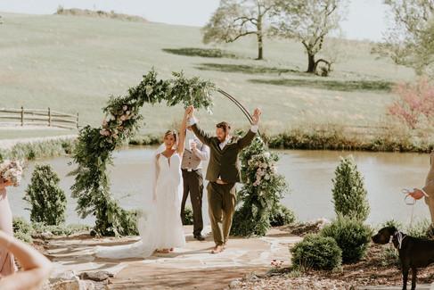 Outdoor Wedding Ceremony_ Bekah Kay Phot