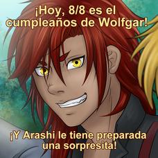 Felicidades, Wolfgar!