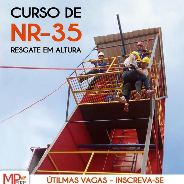 Curso de NR 35 - Resgate em Alturas.