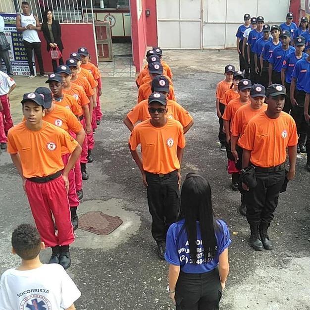 Curso de Formação de Brigadista Mirim.