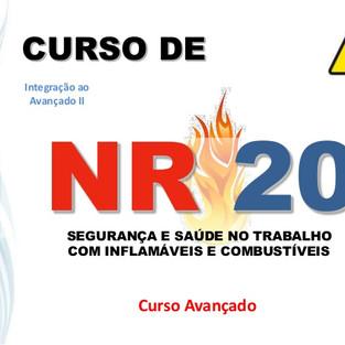 Curso de NR 20 - Segurança e Saúde no Trabalho com Inflamáveis.