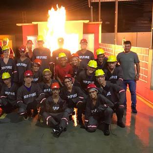 Formação e Reciclagem de Brigadista Voluntário de Incêndio (BVI).