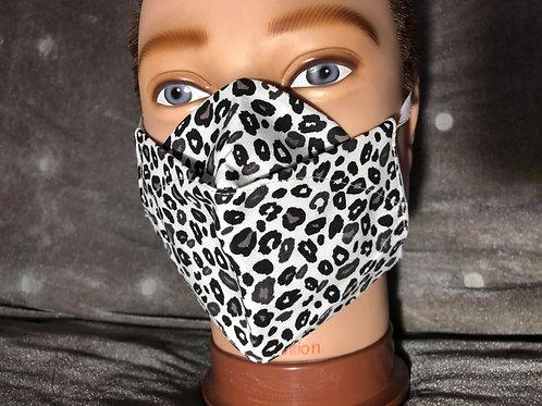Masque 3D leopard
