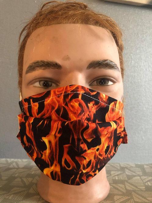 Masque tissus feu selon les normes AFNOR