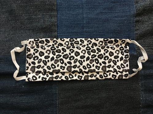Masque tissus léopard selon les normes AFNOR