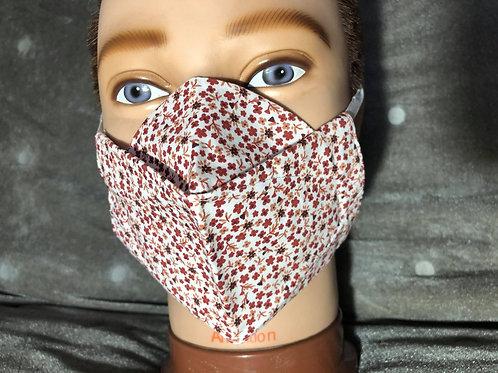 Masque 3D liberty rose