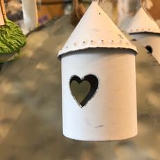 Guirlande de maisons avec coeur