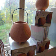 9€95 lanterne petit modèle terracotta