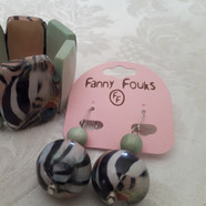 22€50 le bracelet large bois FAN7551