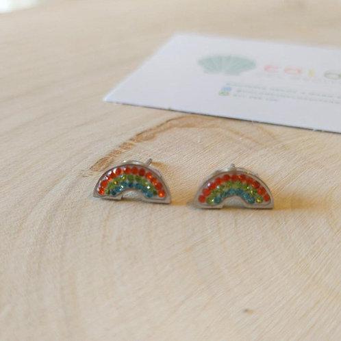 Pendientes Arco Iris