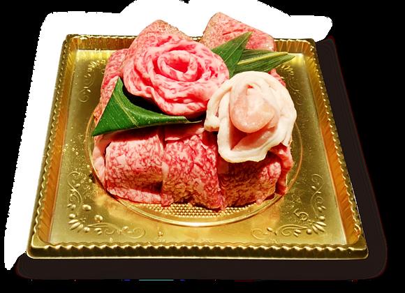 【アニバーサリー用】肉ケーキ