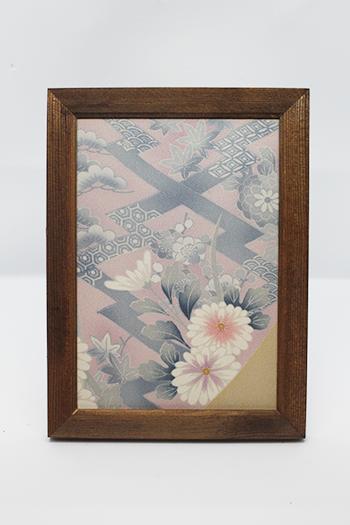 Photo Frames Utilizing Kimono Materials   Series 6