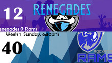Rams Handle the Renegades