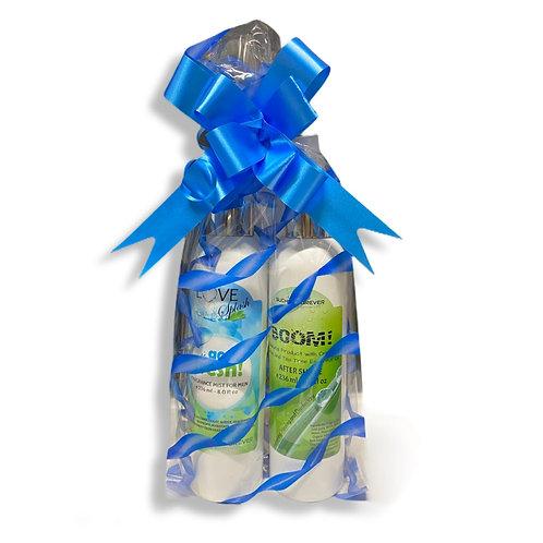 Gift Set Love Splash Go Fresh for Men (Fragrance Mist+After Shave)