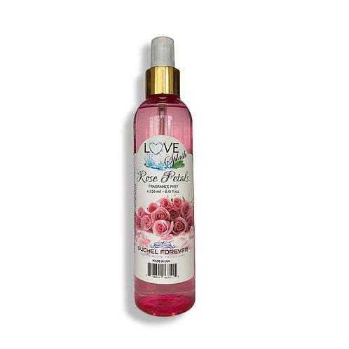 Love Splash Rose Petals Fragrance Mist 8.0 oz