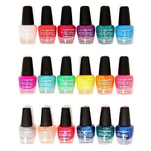 L.A. COLORS NAIL POLISH COLOR CRAZE