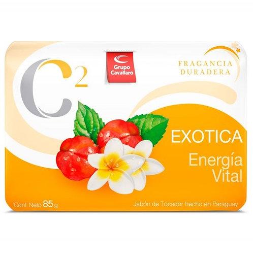 Jabón de Tocador Exótica Energía Vital 85 g