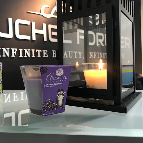 Aroma from Nature Luxurious Lavender Candle 4 oz