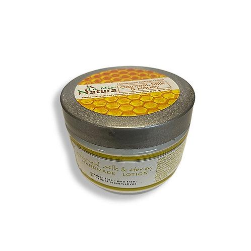 La Mia Natura Oatmeal, Milk & Honey Natural Handmade Lotion 4.0 oz