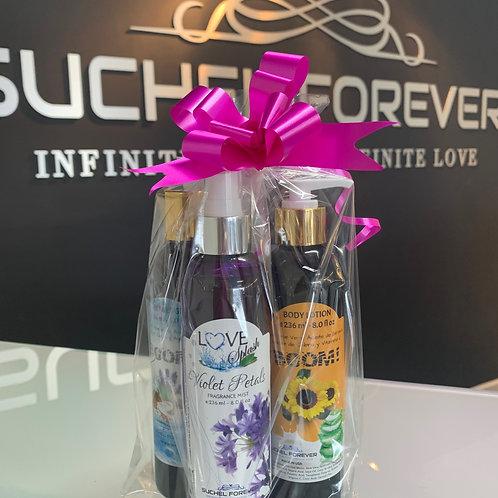 Gift Set Love Splash Violet Petals
