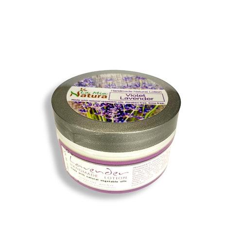 La Mia Natura Violet Lavender Natural Handmade Lotion 4.0 oz