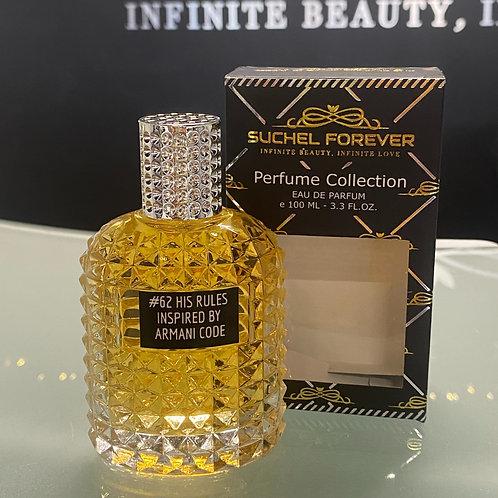 Our Inspiration Armani Code,  BOOM! #62 His Rules Eau de Parfum for Men