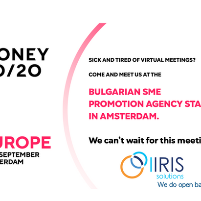 We are at Money 20/20 Europe